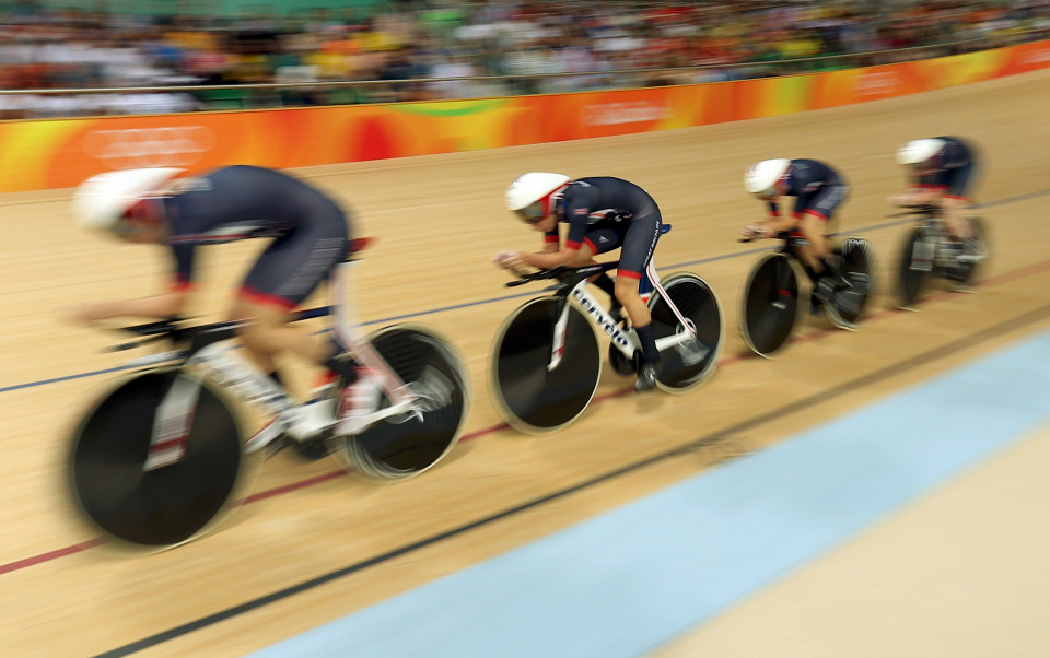 Cycling Track – Women's Team Pursuit Final Gold Race