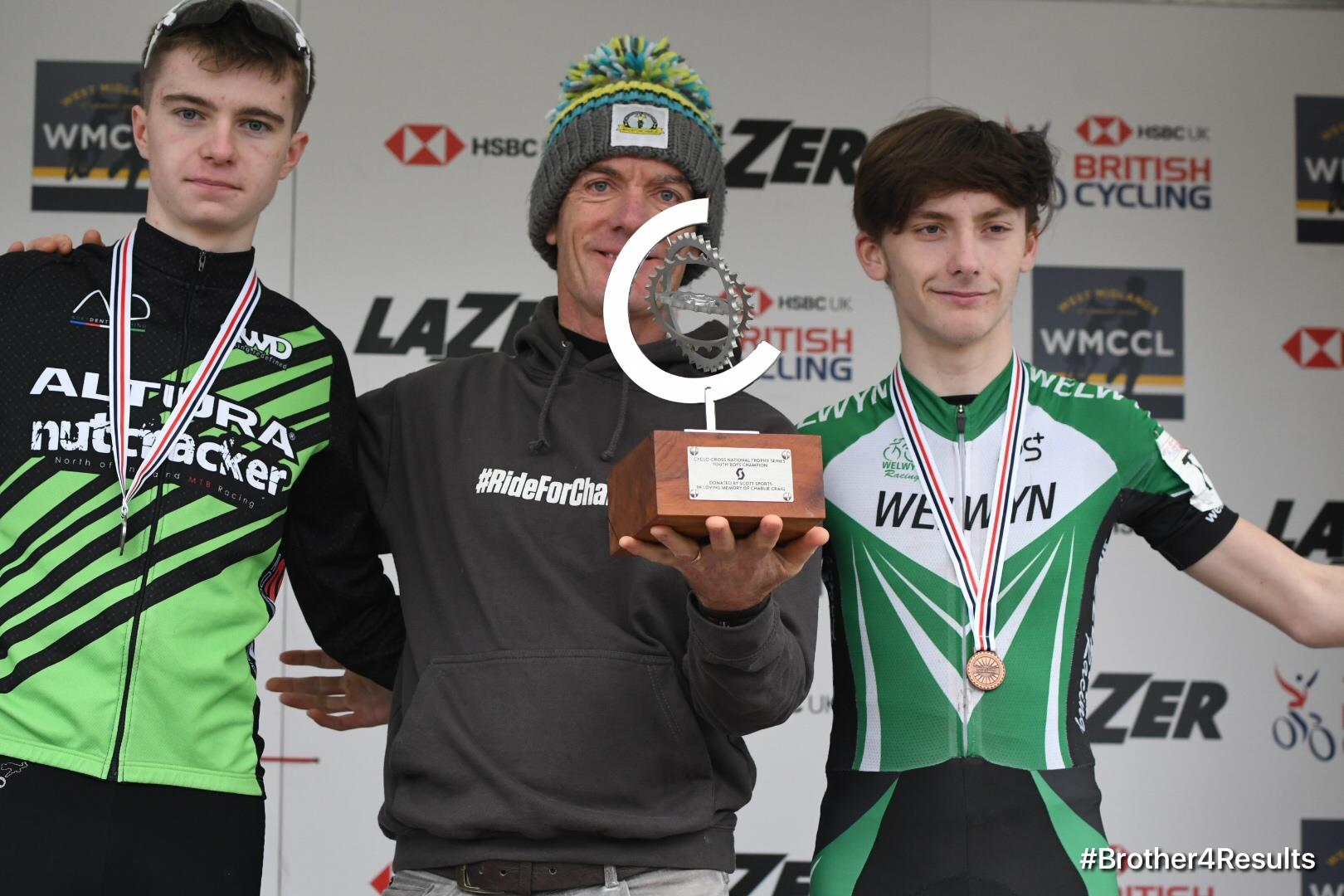 Joe Kieley finished 3rd overall in the National Trophy Series