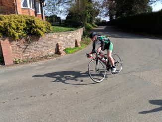 Naomi Holt - Welwyn Hilly TT top female junior rider