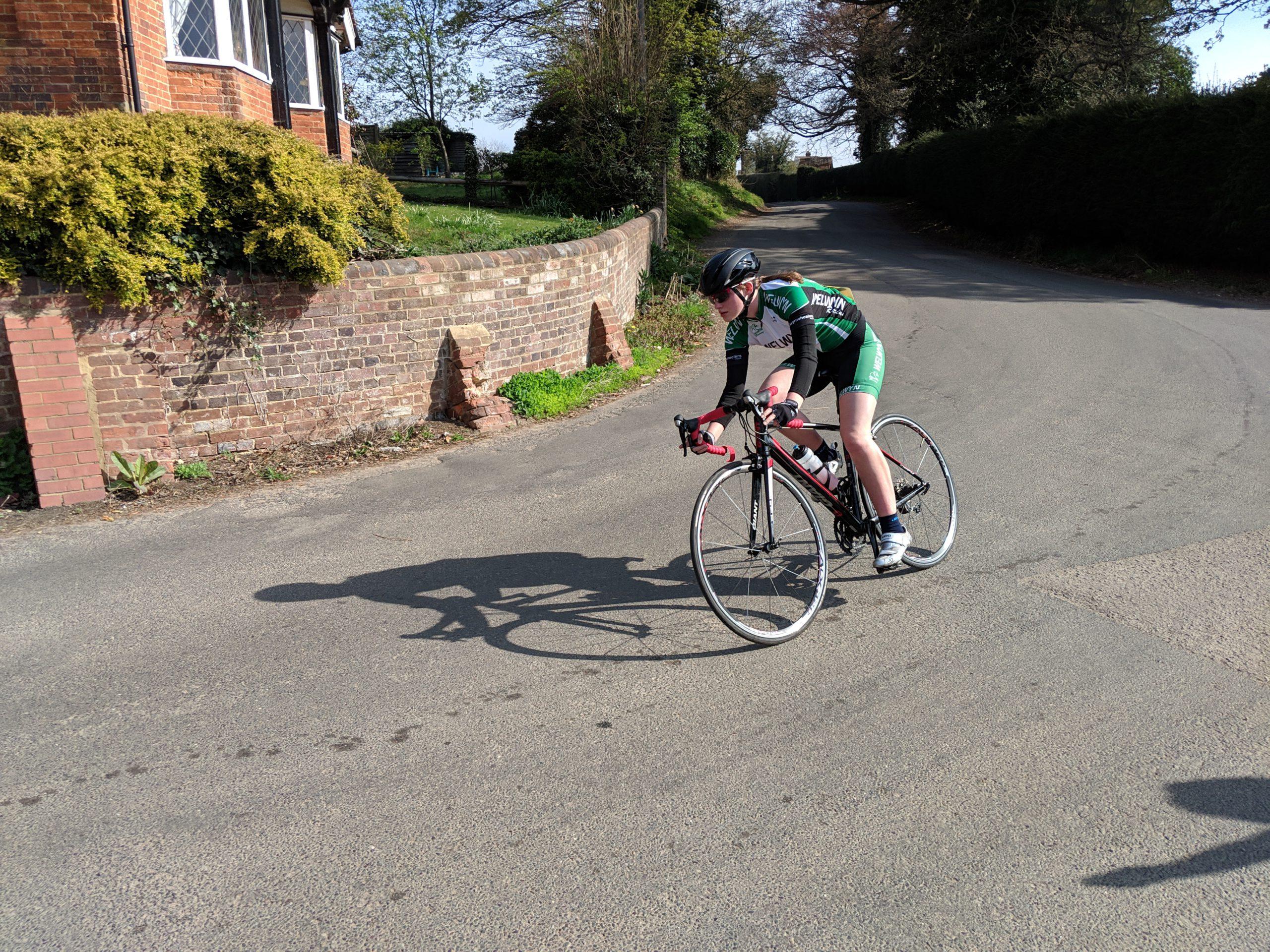 Naomi Holt – Welwyn Hilly TT top female junior rider