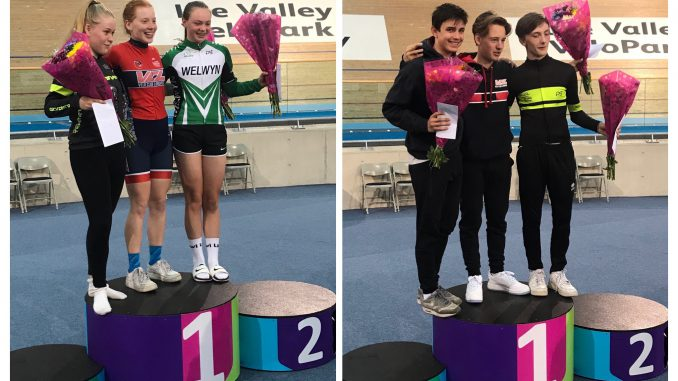 Iona and Joe both 2nd place overall at Lee Valley