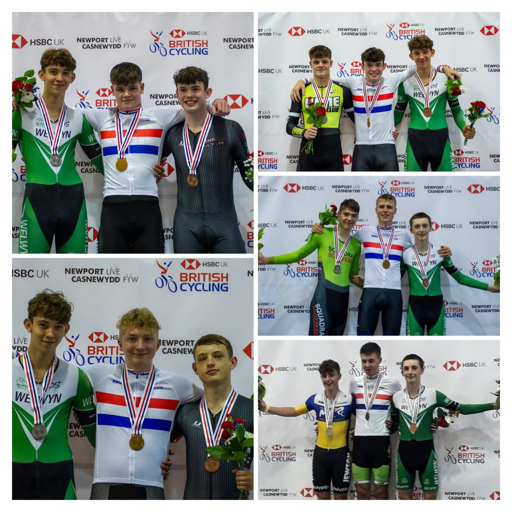 Tom and Joe visited the podium 5 times during the championships