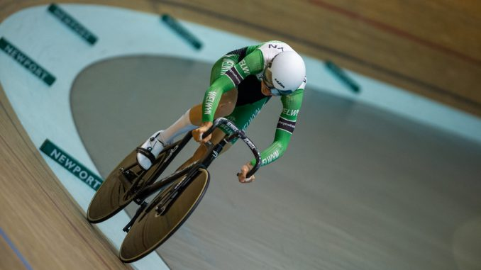 Tom Sharples setting the National record in the 500m TT. All photos @ David Partridge / 5311 Media