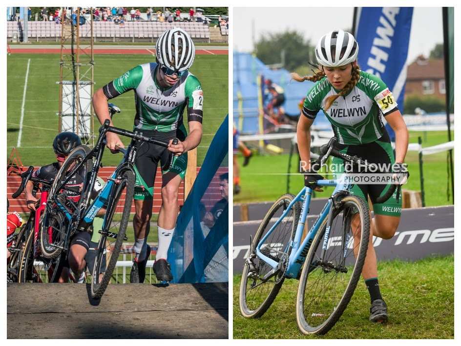 Euan and Ellen at the Derby National Trophy