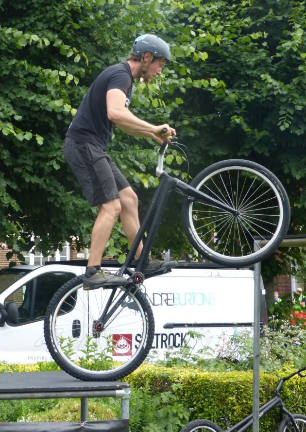 Stunt bikes